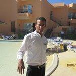 Ehab the singing waiter