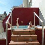 Junior suite Hot tub!