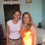 Con Yisel, dueña de Casa Amada Malecón