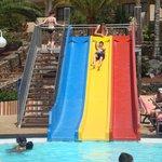 Slide pool.