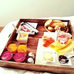 Frühstück im Bett :-)