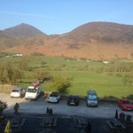 View from the catbells room