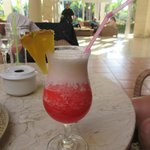 A miami vice drink wow! Hummmm!
