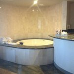 junior suite with jetted tub