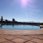 And relax.... Quiet pool area with stunning views of surrounding vines and ranges