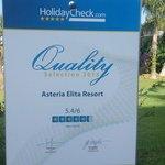 Рейтинг отеля