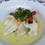 Plaice dish - small, thin fillets.
