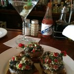 Escargot with Champinons - and a Martini of course!