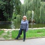 в парке. г.Теплице
