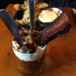 Bacon/BBQ Parfait