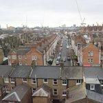 Vista del Estadio del Chelsea y alrededores