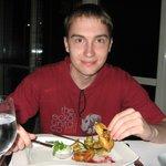Dinner in the French restaurant
