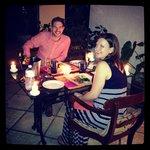 Dinner on our Veranda