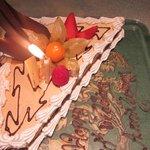 The symbolic but nice wedding cake