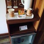 Tea facilities/ fridge