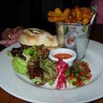 Laverstock Farm beefburger