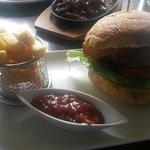Pheasant and Pork burger