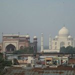 View of Taj from Rooftop