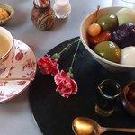 抹茶の白玉