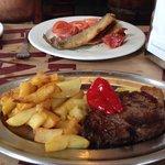 Tercer plato del menu del dia