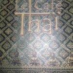 Carte du Café Thai