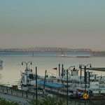Morning view of the Mississippi River