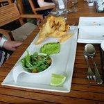 Fish, Chips and Chocolate Mushy Peas