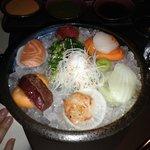 Sushi/sashimi - rekommenderas!
