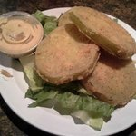 Fried Green Tomatoes - off the chain delicious!