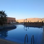 Pool area....