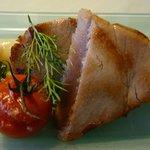 Gasthaus Rebstock Thunfisch mit Spargel