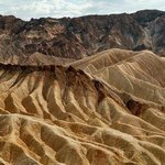 The famously over photographed fingers of Zabriskie Point