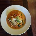 Red Curry Chicken.