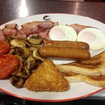 Only one of our big range of breakfast menu