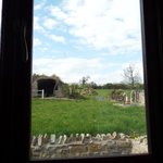 View from Twin Room over meadow