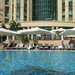 Der Hilton-Pool - ein Ort, um sich zu erholen
