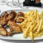 Grilled Chicken with Piri Piri Sauce