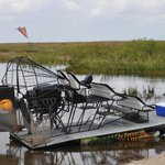 Our airboat...
