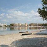 Strand in der Nähe des Hotels