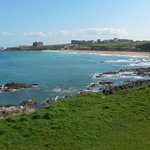 View from Room 213 over Fistral Beach