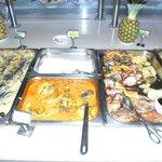 Una parte del buffet