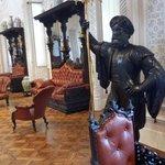Uno de los salones del Palacio do Pena, Sintra