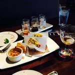 IPA six pack sampler, blackened swordfish tacos and (almost empty) imperial IPA