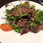 Salade landaise excellente!