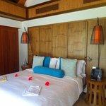 Bedroom 2 on first floor of family villa