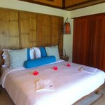 Bedroom 3 on the first floor of family villa