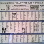 Where to find Missionaries of Charity around the world