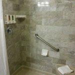 Nice walk-in shower Room 1101