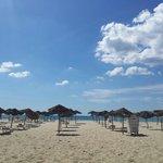 The private beach at Phenicia