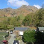 View from room 23, New Dungeon Ghyll Hotel